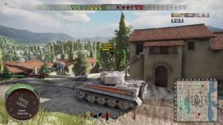 World of Tanks PS4 - Oluja1973 - Tiger I Hammer on Abbey - 6 Kills