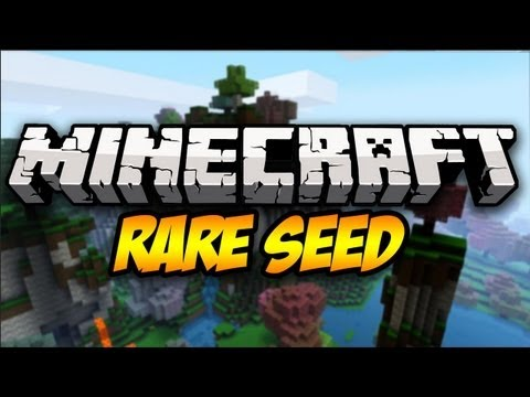 Minecraft Seed Showcase: Rarest Seed Ever!? (1.6.4)