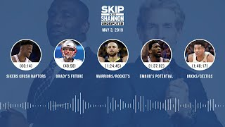 UNDISPUTED Audio Podcast (05.03.19) with Skip Bayless, Shannon Sharpe & Jenny Taft | UNDISPUTED