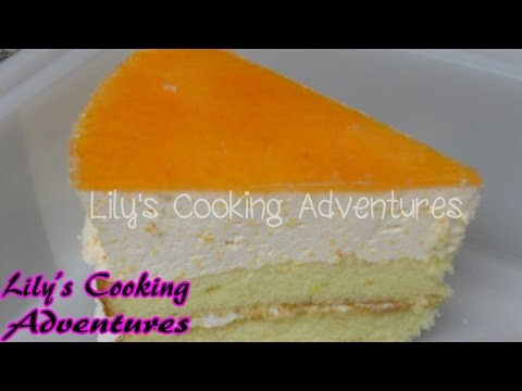 Peach Mousse Cake - YouTube