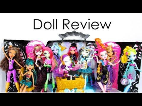 Doll Collection Review: Monster High: Music Festival and 13 Wishes