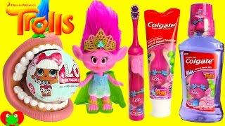 Trolls Poppy Brush Teeth with LOL Doll Surprises
