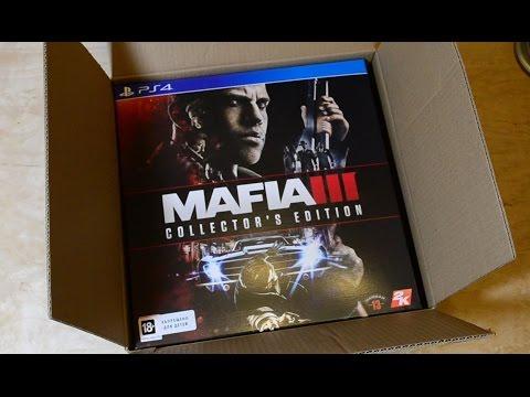 Распаковка коллекционного издания Mafia III