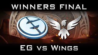 EG vs Wings Winners Final The International 2016 TI6 Highlights Dota 2