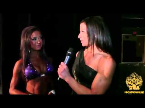 Lindsay Waters After Winning the 2013 NPC Junior USA Bikini Overall