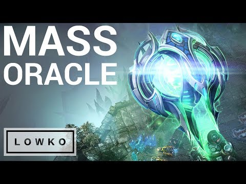 StarCraft 2: MASS ORACLE In A Pro Game?!