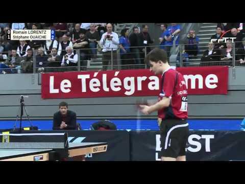 Finale masculine Championnat de France de Tennis de Table 2016