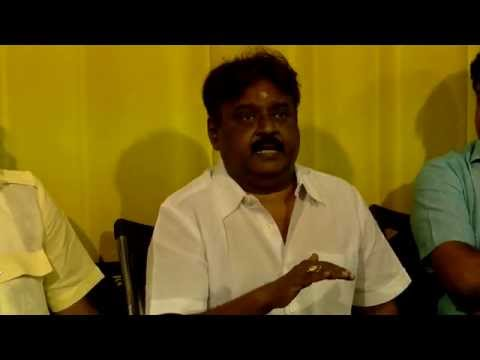 Vijayakanth Talks about Andhra Shoot Out & Arasu Cable Issue – LoL- Must Watch