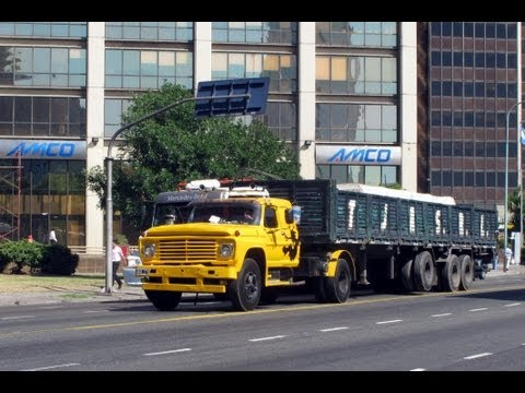 BUENOS AIRES TRUCKS ARGENTINA JANUARY 2012
