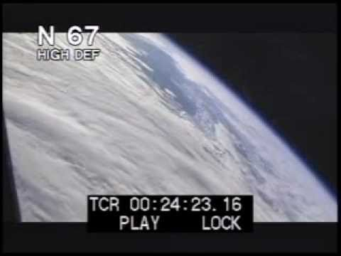 Earth From Space Shuttle Window - NASA Footage - Best Shot Footage - Stock Footage