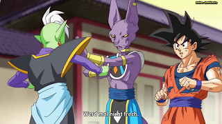 Beerus vernichtet Zamasu! DragonBall Super Folge 59 (Ger Sub)