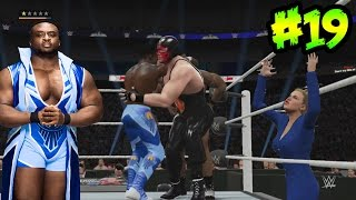 WWE 2K16 - Orton, Lana y Nacho libre Vs New Day duros rivales en Tag Team