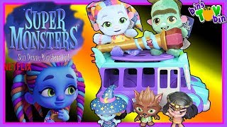 Sun Down, Monsters Up! The Super Monsters Are Toys!
