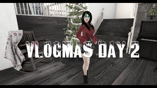 [ S E C O N D L I F E ] Vlogmas Day 2 GIVE AWAY TIME