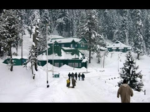 Gulmarg, Kashmir in Winter 2012.