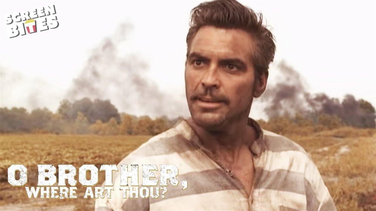 O'Brother Where Art Thou? - George Clooney train scene ...