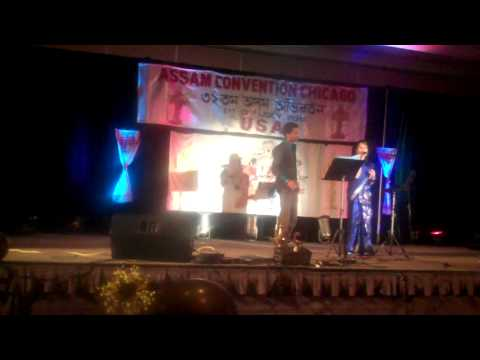Assam Convention Chicago 2011 - Zubeen And Zublee's Performance (ramdhenu) video