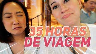 VLOG COREIA 10: Despedidas + 35 HORAS DE VIAGEM!