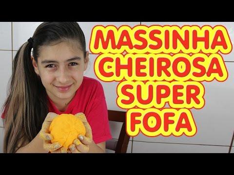 Massinha Fofa Cheirosa (Modelar. Macia. Diferente. Super Massa. DIY) Play Dough Soft Smelling