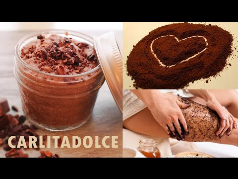 TUTORIAL anticellulite 2: SCRUB Fai da te al Cacao Rassodante Naturale