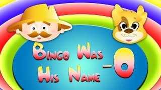 BINGO WAS HIS NAME O |  Nursery Rhyme Express | Sing Along Songs for Kids | HD Animation