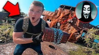 EXPLORING THE GAME MASTERS ABANDONED PIRATE GHOST SHIP! (Hacker Mystery Spy Challenge)