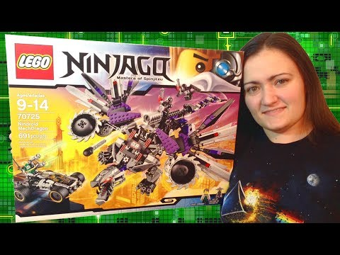LEGO Nindroid MechDragon 70725 LEGO Ninjago Review