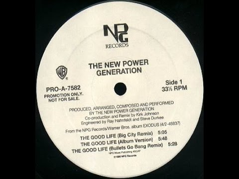 The New Power Generation - The Good Life Promo