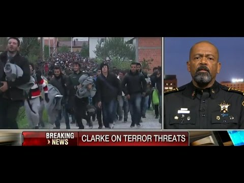 Sheriff David Clarke About Immigrants Terror Threats
