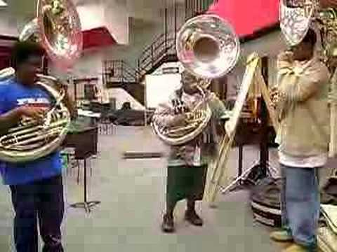 Tuba players at their best