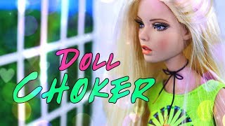 DIY - How to Make: EASY Doll Choker   LOTS OF STYLES   Quick Craft