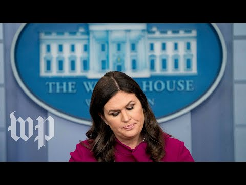 White House news briefing