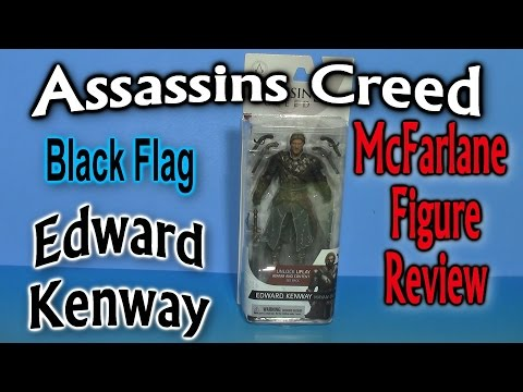Assassins Creed, Edward Kenway, McFarlane Figure Review