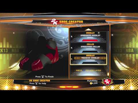 NBA 2K13 - Shoe Creator - Lebron XI