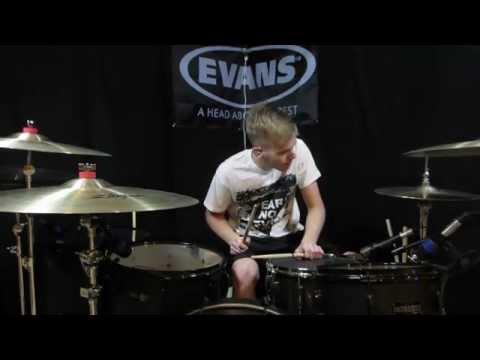 Travie McCoy - Keep On Keeping On (feat. Brendon Urie) - Drum Cover - Brooks