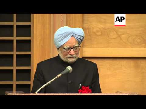 PM Singh comments on maritime security and regional stability