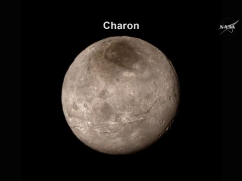 NASA Reveals First Close-up Pictures Of Pluto