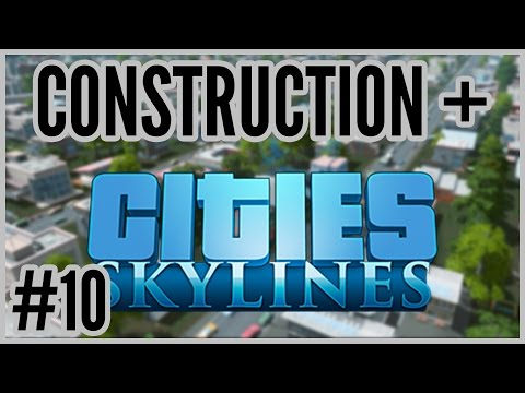 Garbage Mountain = Construction + Cities: Skylines #10