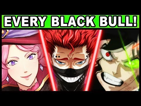 All Black Bull Members and Their Powers Explained! (Black Clover / Every Black Bull)