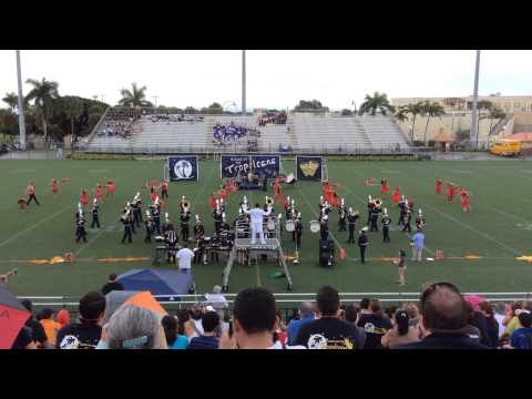 Miami Senior High School Million Dollar Band - Night at the Tropicana 2014 (Showcase of Champions)