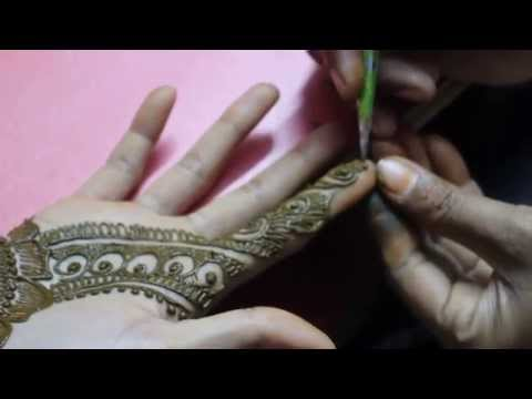 Arabic Mehandi Design Front Hand Video 3- Ilovemehandi.tv video