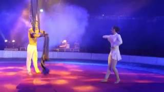 Aerial silk duo act 0196 by Paruvintov Production