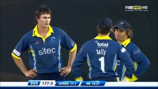 38 runs in 1 over. The worst over of all time!