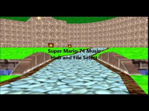 Super Mario 74 Music -Hub and File Select