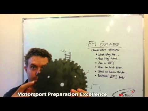 How Crankshaft Position Sensors Work :: EFI Explained by Matt @ M-Tech Automotiv