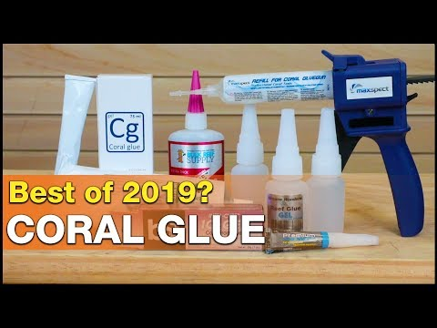 The most popular, cheapest, stickiest and easiest coral glues? BRS's Best of 2019!