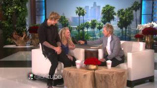 Justin bieber meets a fan on The Ellen Show 2015 February 19