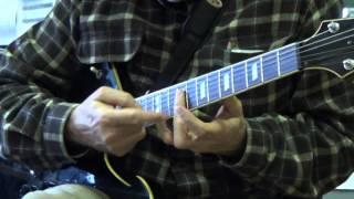 Black Betty - Ram Jam - Basic Rythm Pattern Guitar