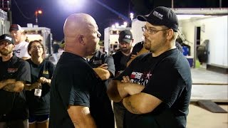 Things Get Hot on the Track After a Call Out | Street Outlaws