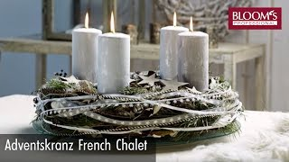 Adventskranz French Chalet